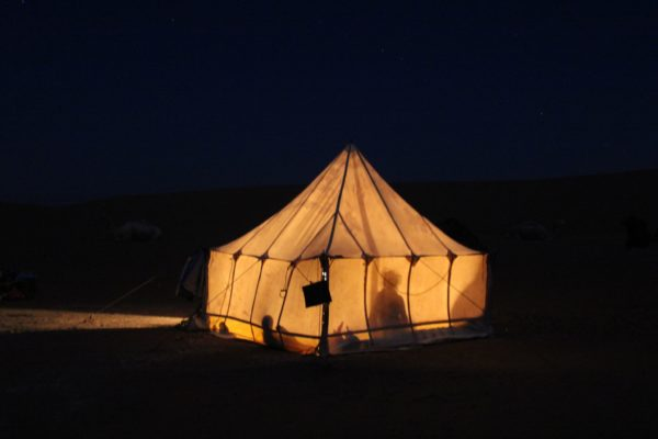 Camp in der nacht